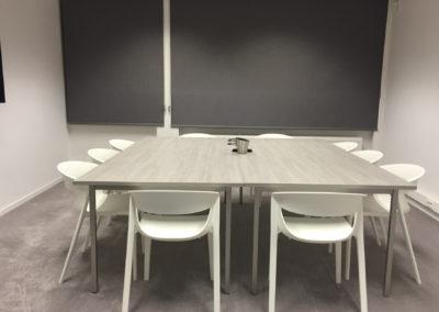 Reforma de Oficina en centro de negocios de Madrid