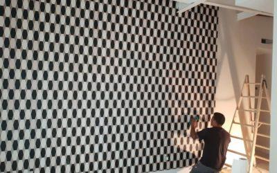 Instalación de papel pintado en Madrid
